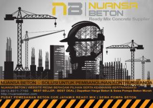 Harga Beton Ready Mix Tiga Roda Jakarta Per M3 Desember 2020